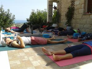 cyprus yoga outdoors