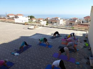 Akamas resort yoga